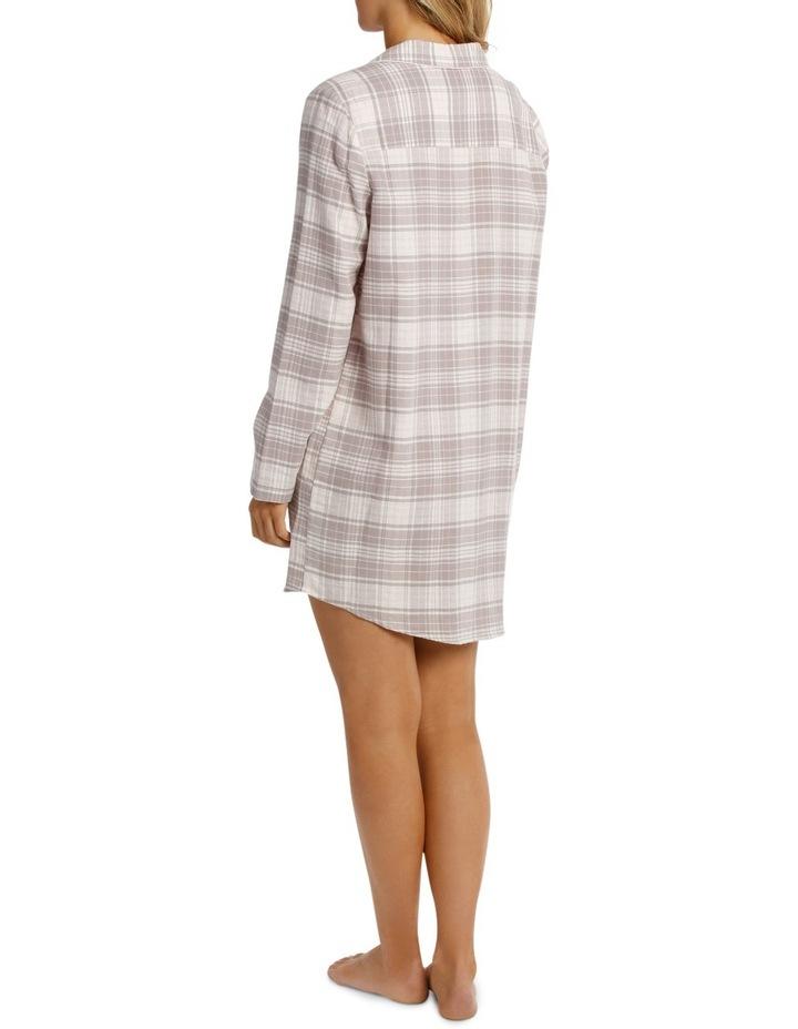 Songbird Long Sleeve Flannel Nightshirt SCLW18060 image 2