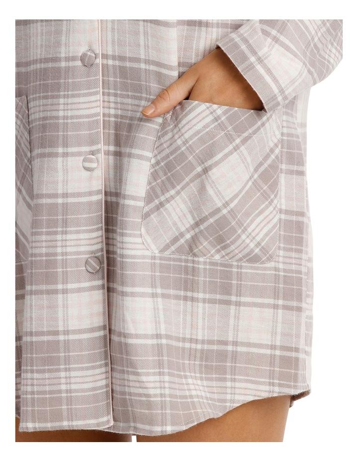 Songbird Long Sleeve Flannel Nightshirt SCLW18060 image 3