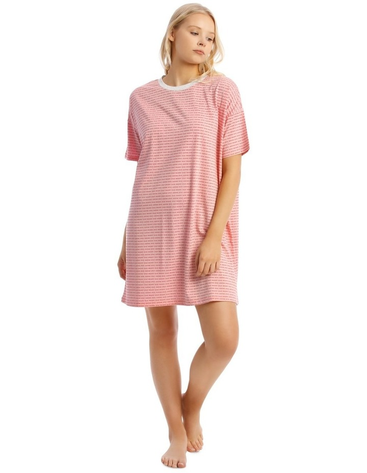 Galentines Short Sleeve Nightie image 1