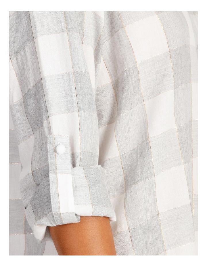 Lurex Long-Sleeve Nightie image 3