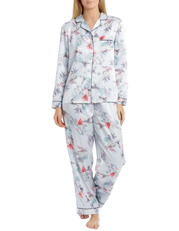 8755ca44485ce Chloe   Lola Satin Long PJ Set