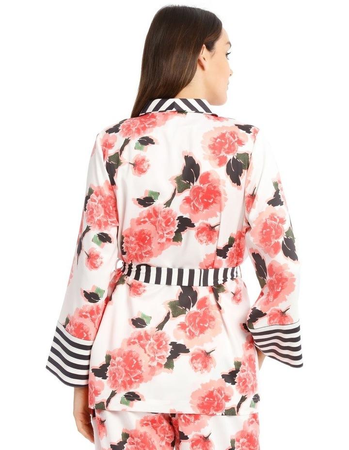 Blooming Romance Long Tie PJ Top image 2