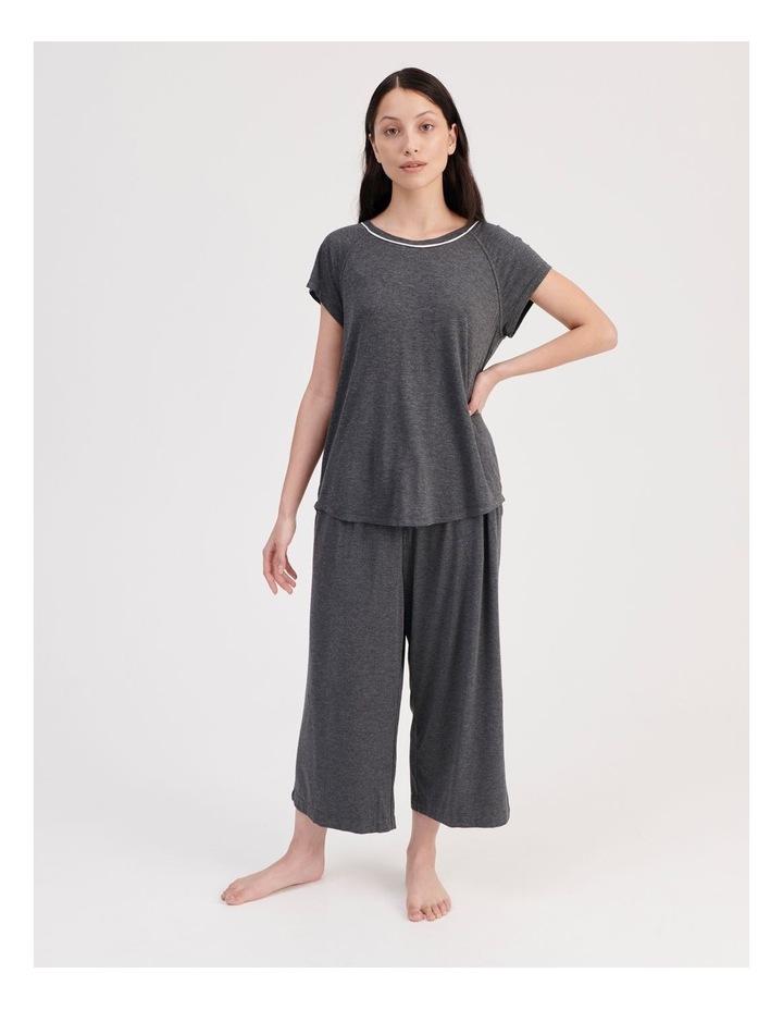 Bamboo Short Sleeve Pyjama Top image 2