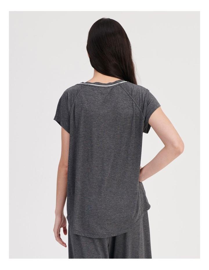 Bamboo Short Sleeve Pyjama Top image 4