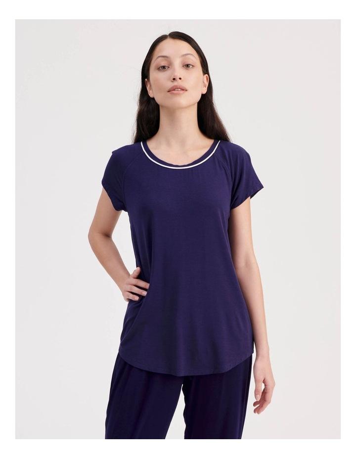 Bamboo Short Sleeve Pyjama Top image 1