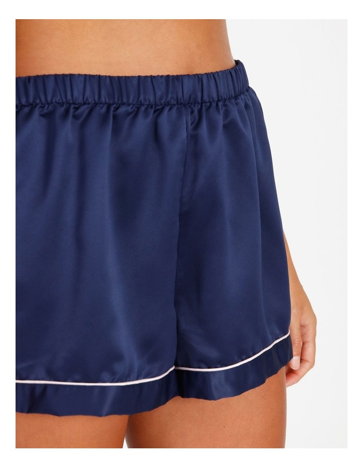 Satin Short Sleeve PJ Set image 4