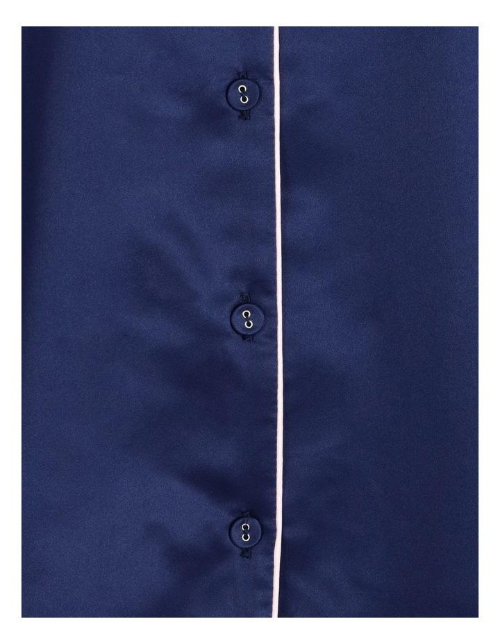 Satin Short Sleeve PJ Set image 5