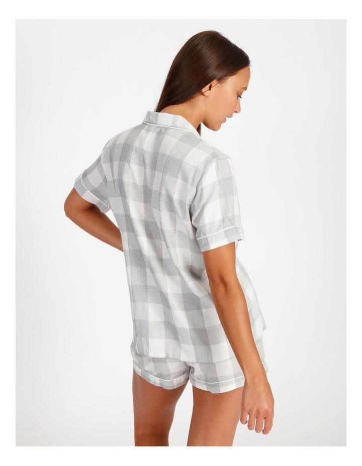 Lurex Short-Sleeve Pyjama Set image 2