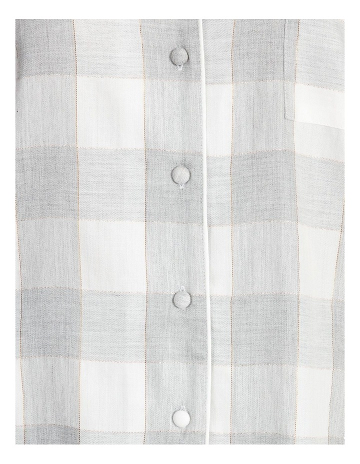 Lurex Short-Sleeve Pyjama Set image 4