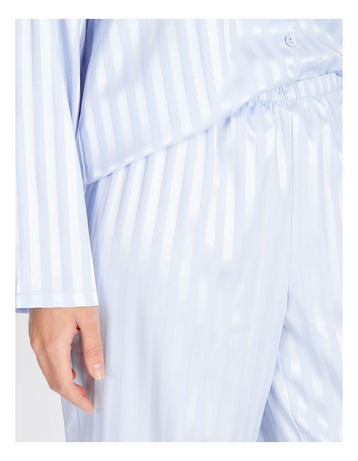 Satin Jacquard Long PJ Set image 4