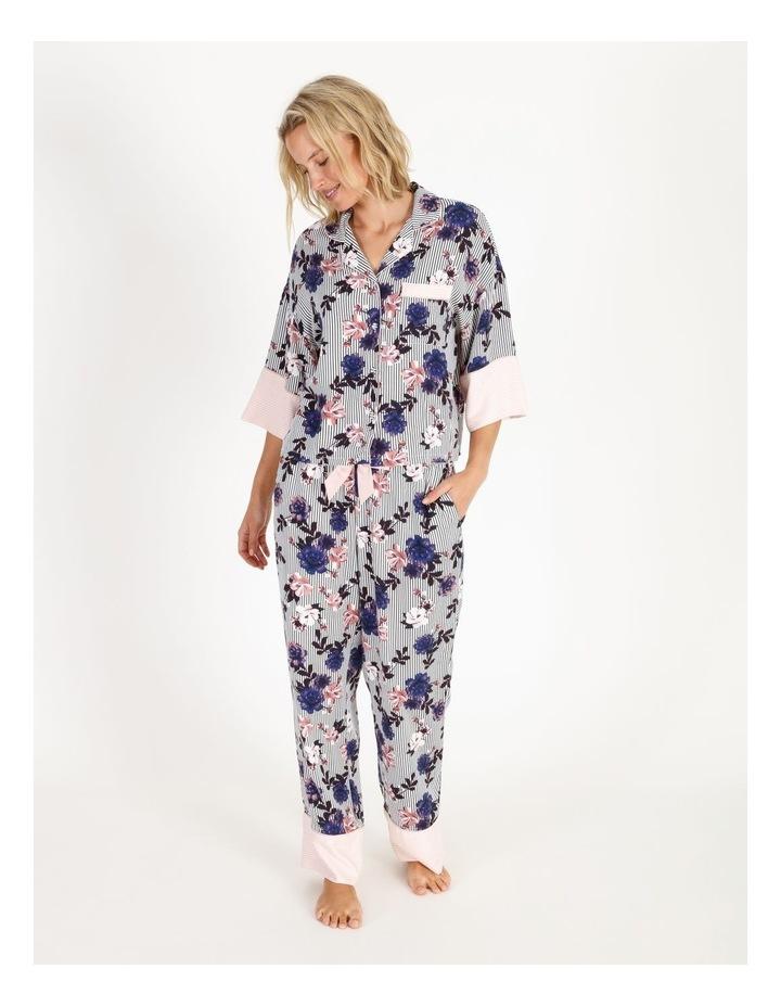 Brushed Twill Short-Sleeve Pyjama Set image 1