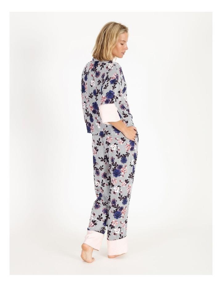 Brushed Twill Short-Sleeve Pyjama Set image 2