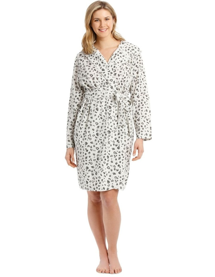 Midnight Love Robe - Grey Marle image 1