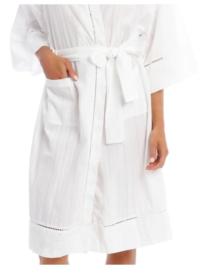Seersucker Robe image 3