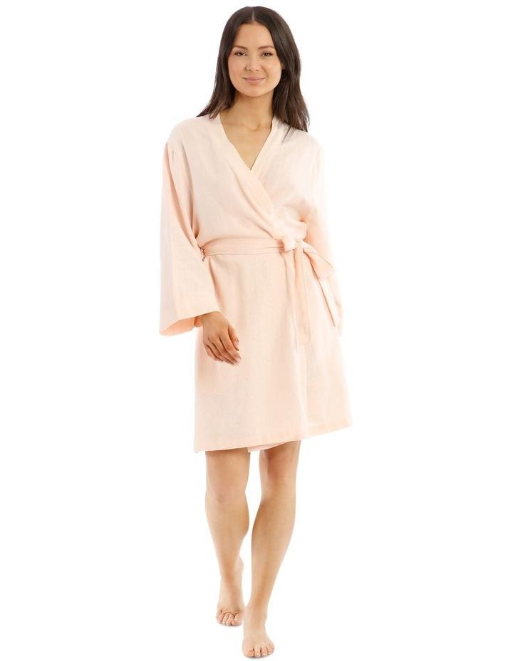 High Noon Viscose Linen Robe image 1