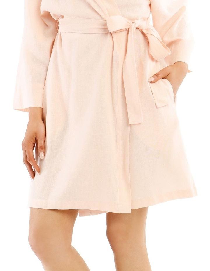 High Noon Viscose Linen Robe image 3