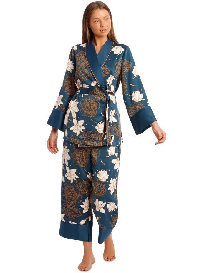 Satin Short Robe image 1