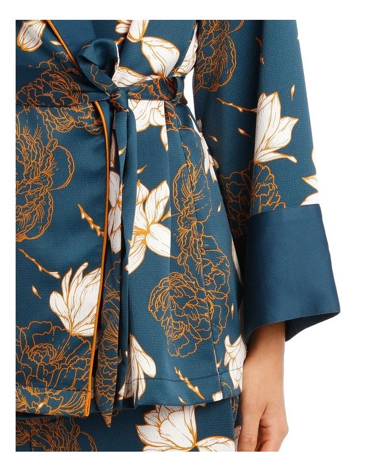 Satin Short Robe image 3