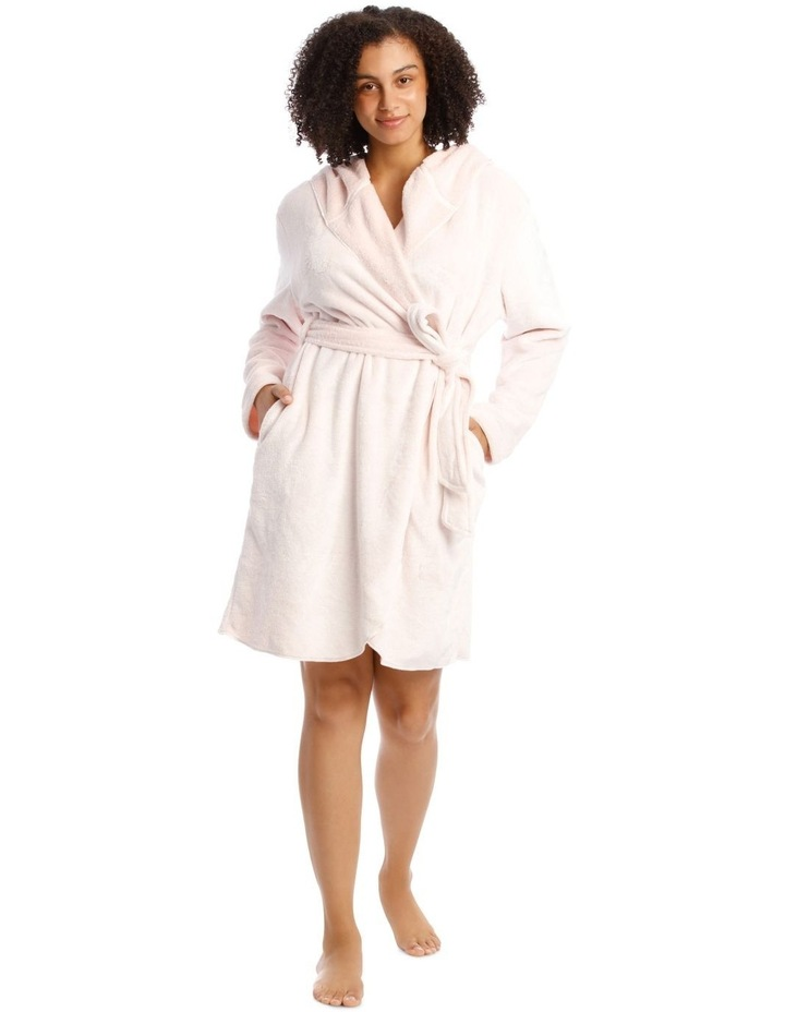 Hop Into Bed Bunny Novelty Hooded Robe image 1