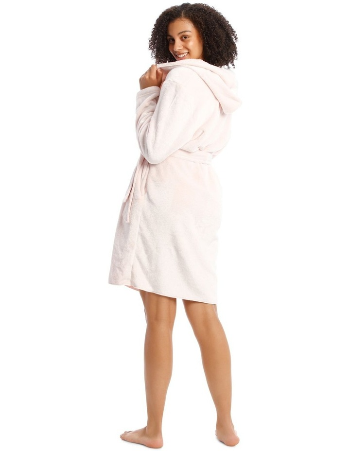 Hop Into Bed Bunny Novelty Hooded Robe image 2