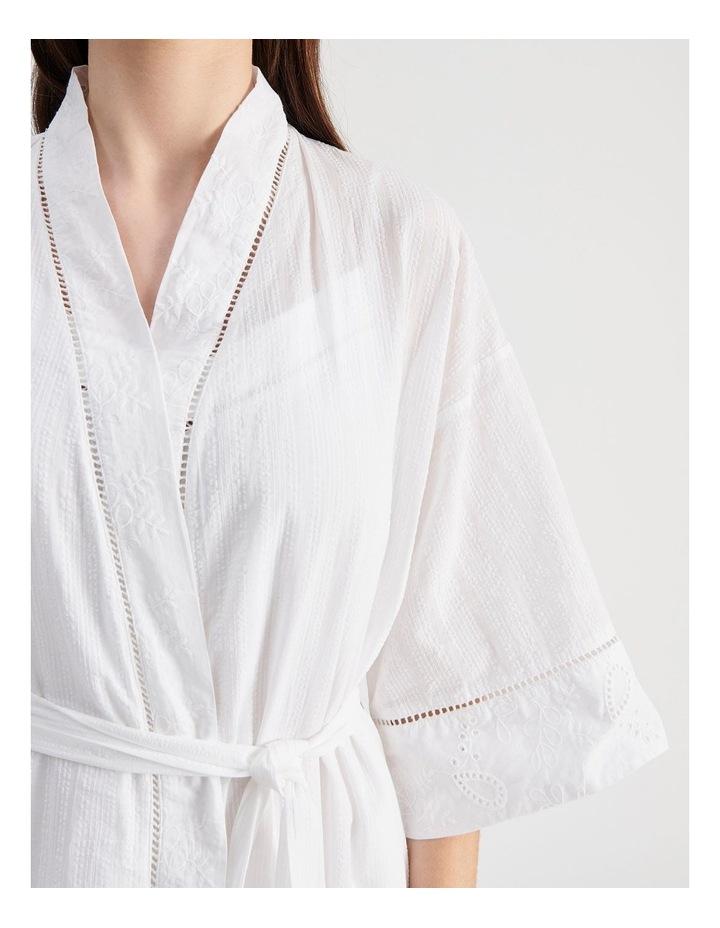 Seersucker Robe image 5