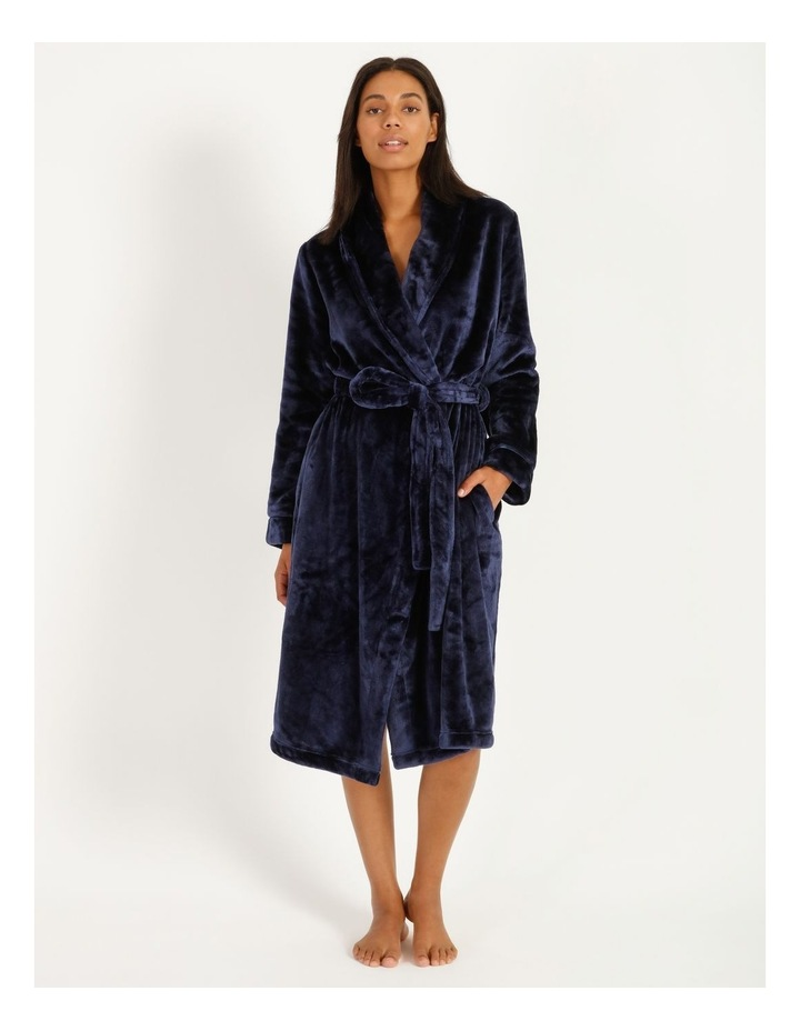 Long Fleece Robe image 1