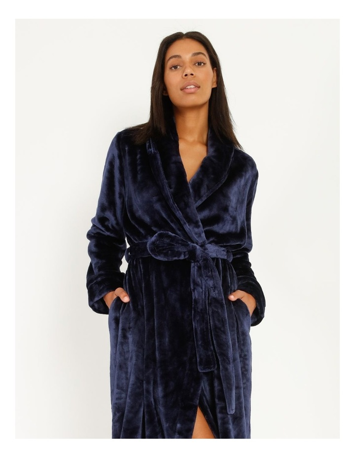 Long Fleece Robe image 3
