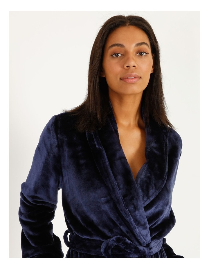 Long Fleece Robe image 4