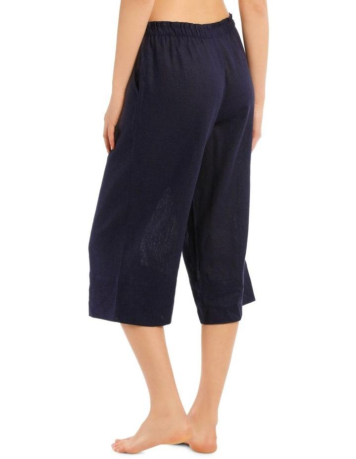 High Noon Linen Viscose 3/4 Pant image 2