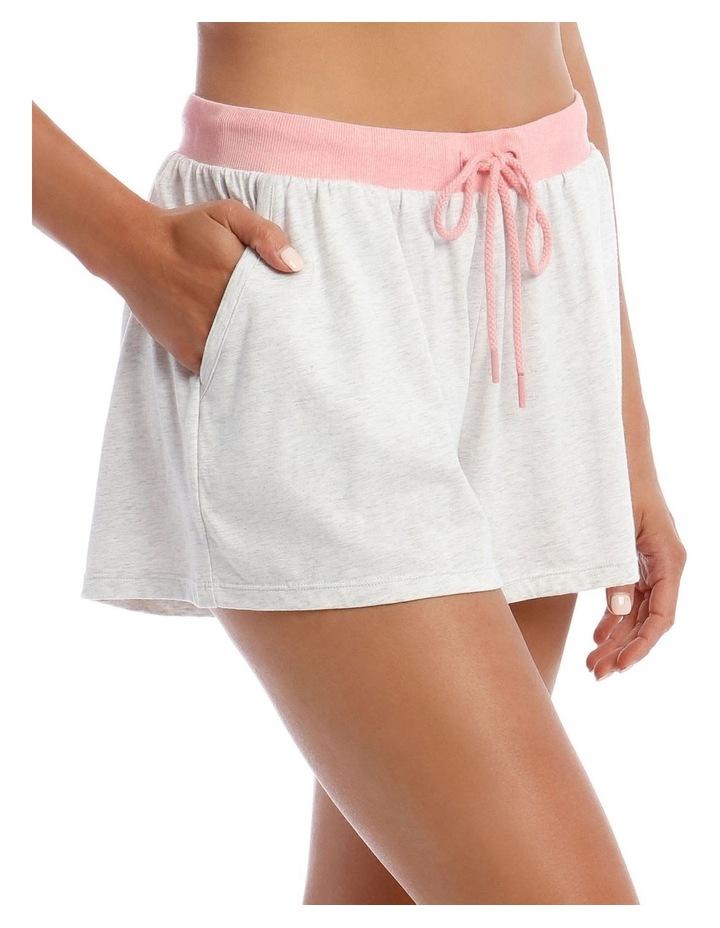 Galentines Cotton Modal Sweat Short image 3