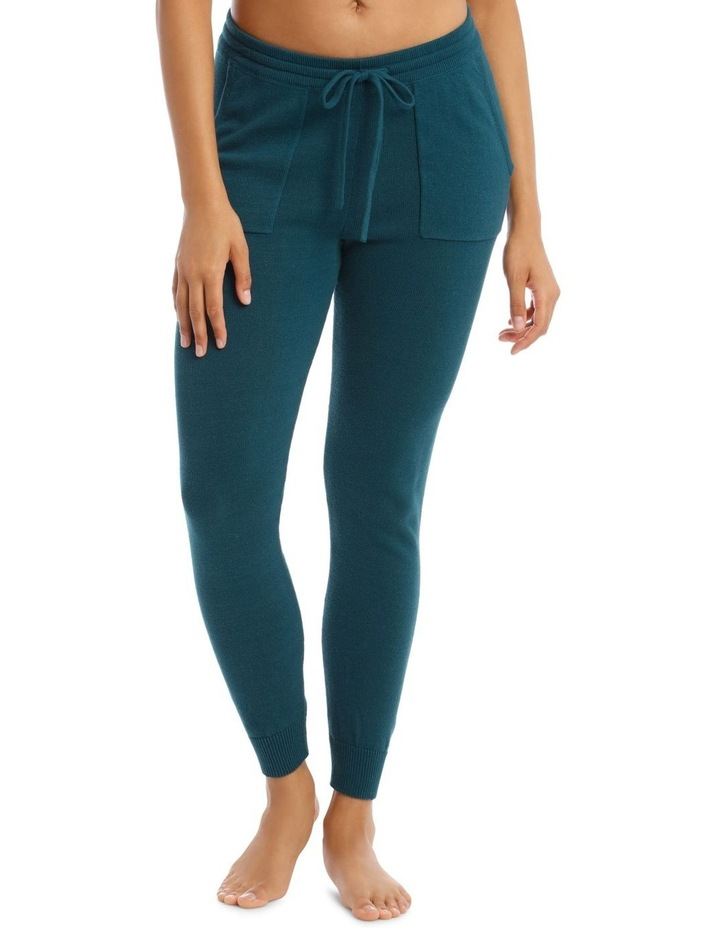 Cosy Comfort Fully-Fashioned Pant in Emerald image 1