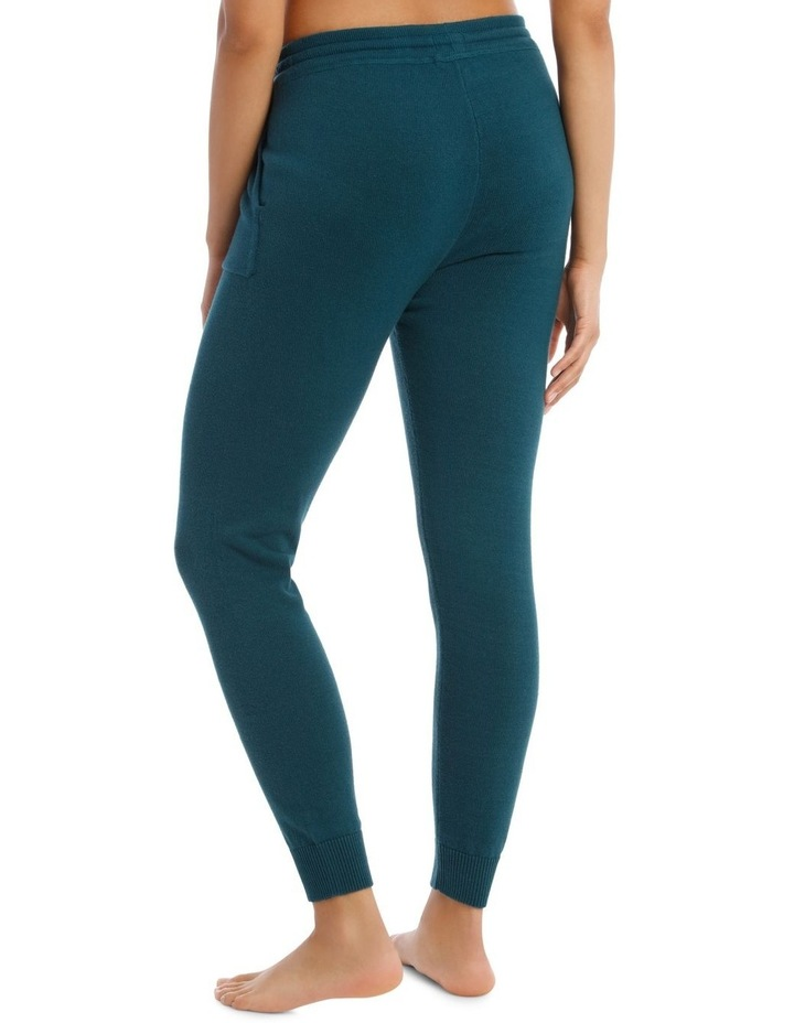 Cosy Comfort Fully-Fashioned Pant in Emerald image 2