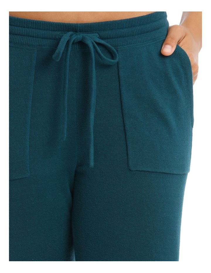 Cosy Comfort Fully-Fashioned Pant in Emerald image 3