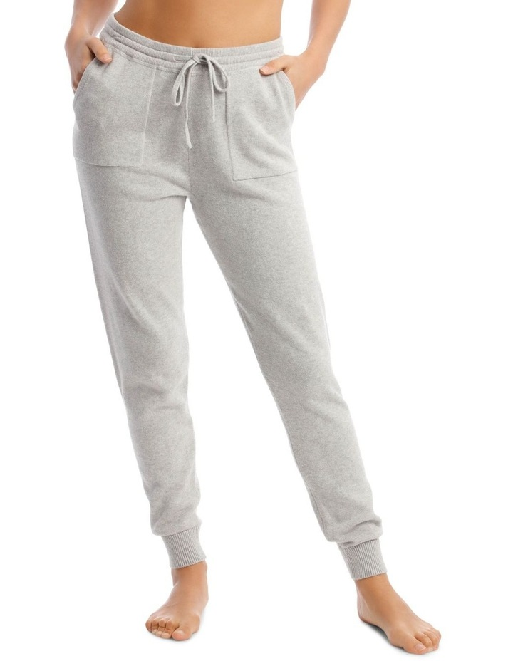 Cosy Comfort Fully-Fashioned Pant in Grey Marle image 1