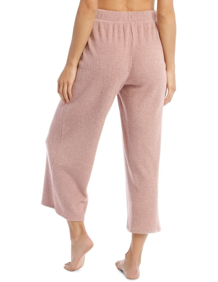 Wide Rib Pant in Pink image 2