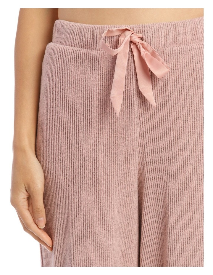 Wide Rib Pant in Pink image 3