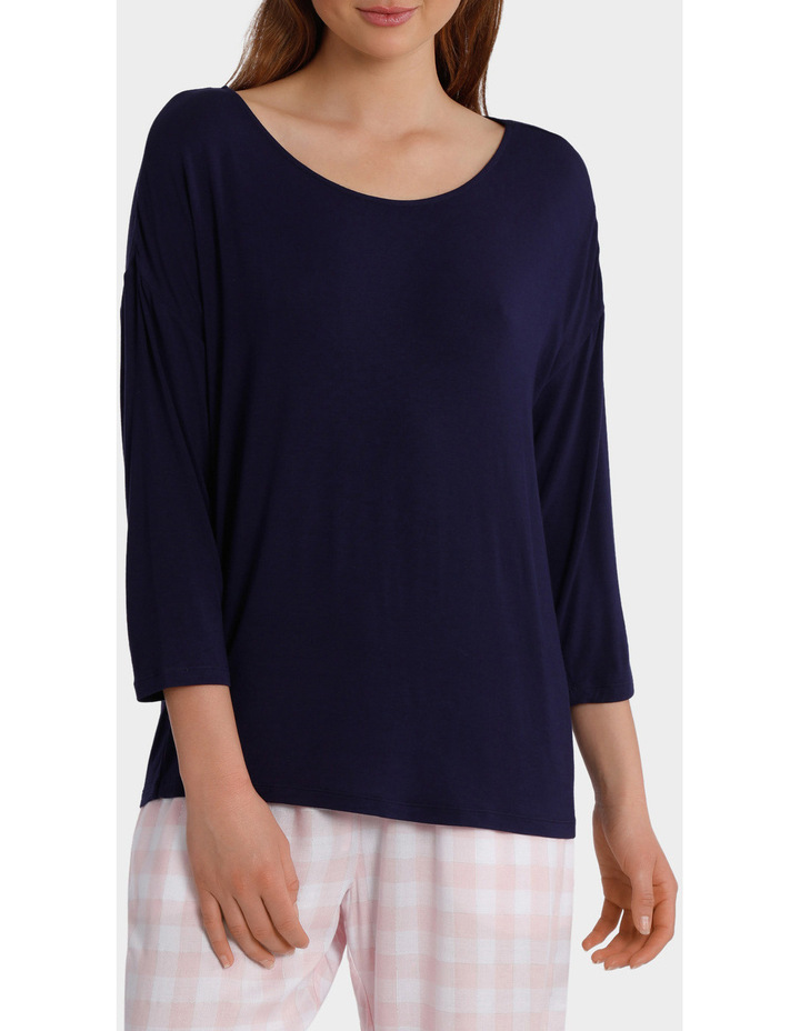 Standing Still 3/4 Sleeve Top SCLS18078 image 1
