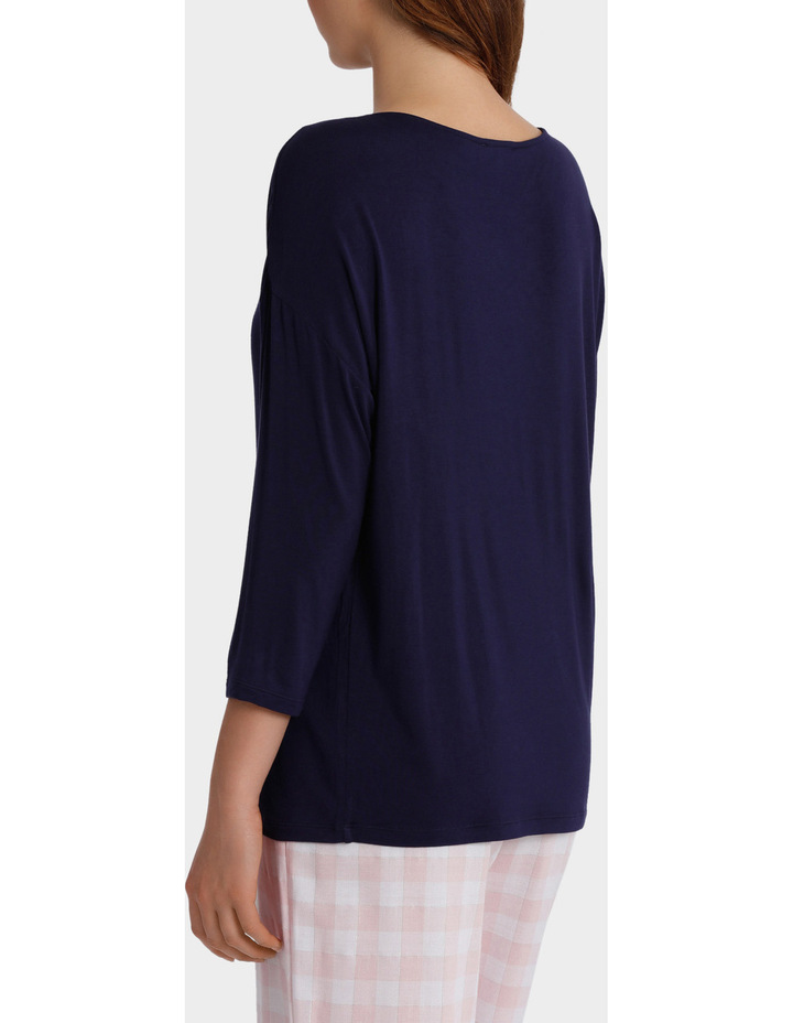 Standing Still 3/4 Sleeve Top SCLS18078 image 2