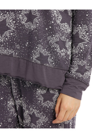 Chloe & Lola - Counting Stars Long Sleeve Slouch Tee SCLW18046
