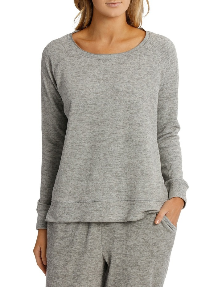 Loungewear Long Sleeve Slouch Top SCLW18059 image 1