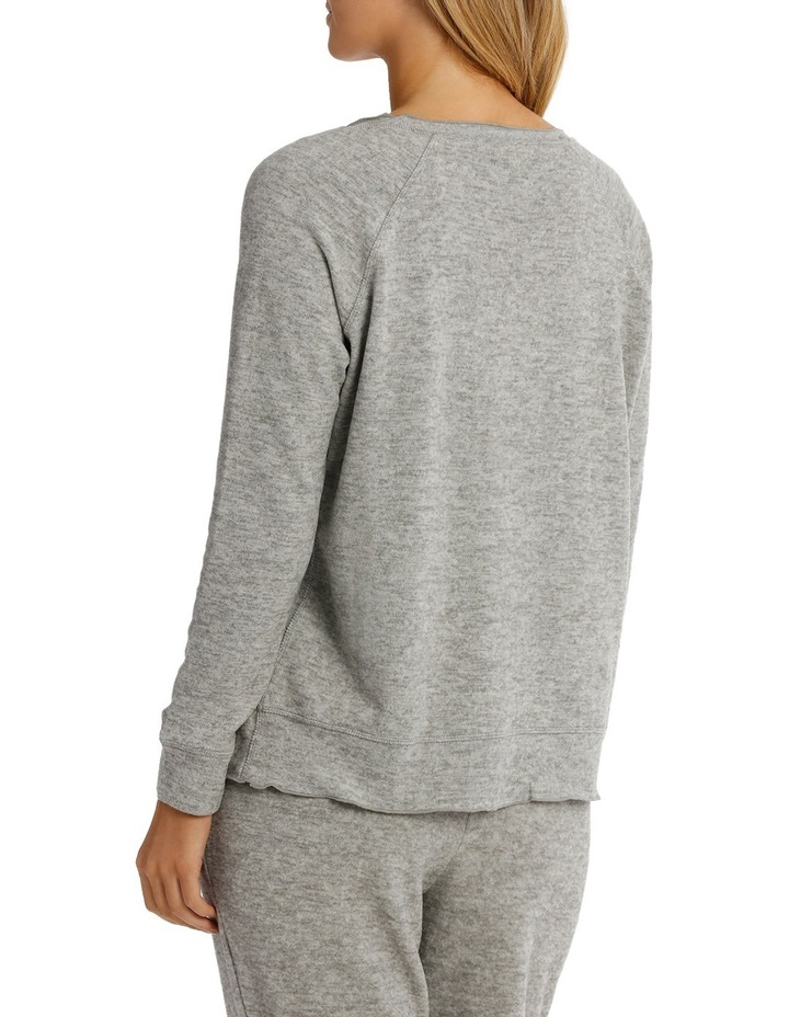 Loungewear Long Sleeve Slouch Top SCLW18059 image 2