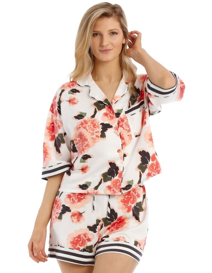 Blooming Romance Short Sleeve PJ Top image 1