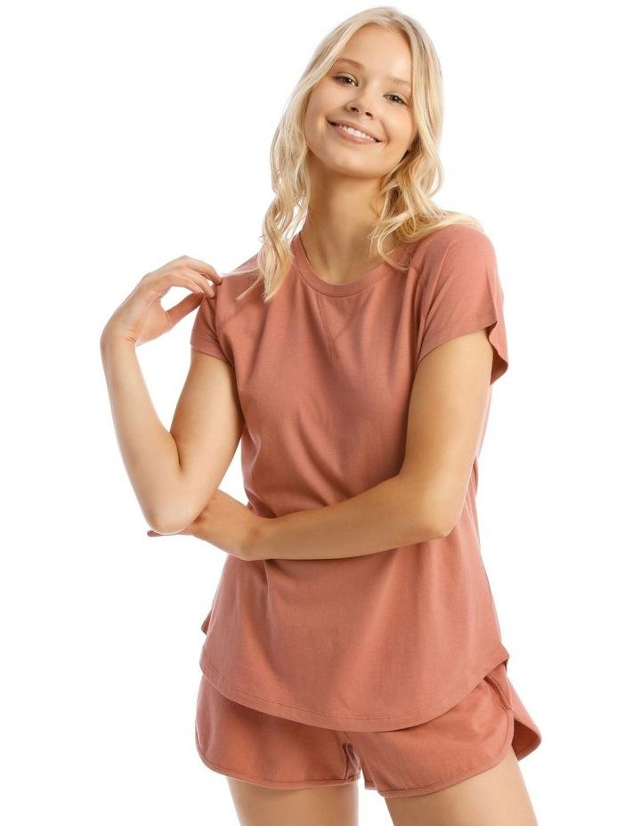 Short Sleeves Raglan Tee image 1