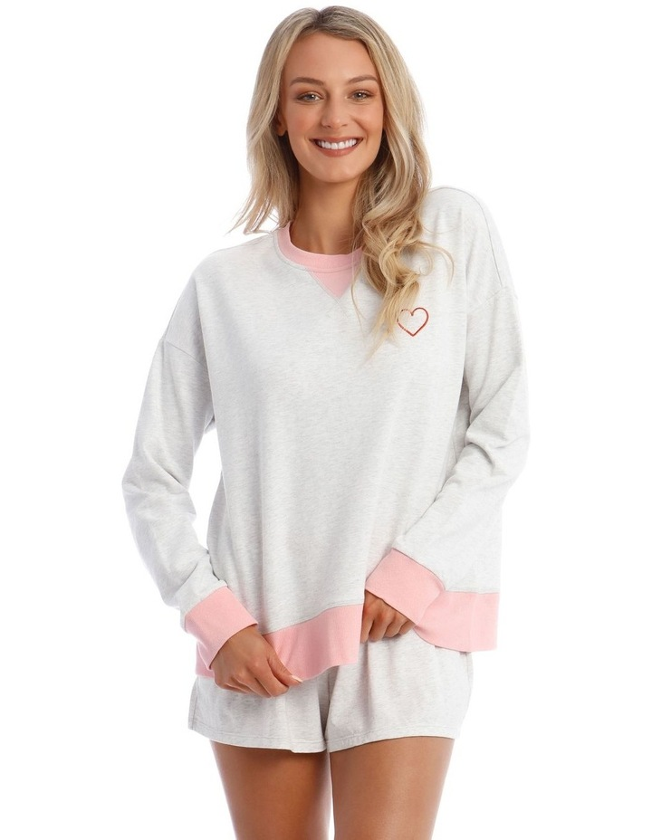 Galentines Cotton Terry Pullover Sweatshirt image 1