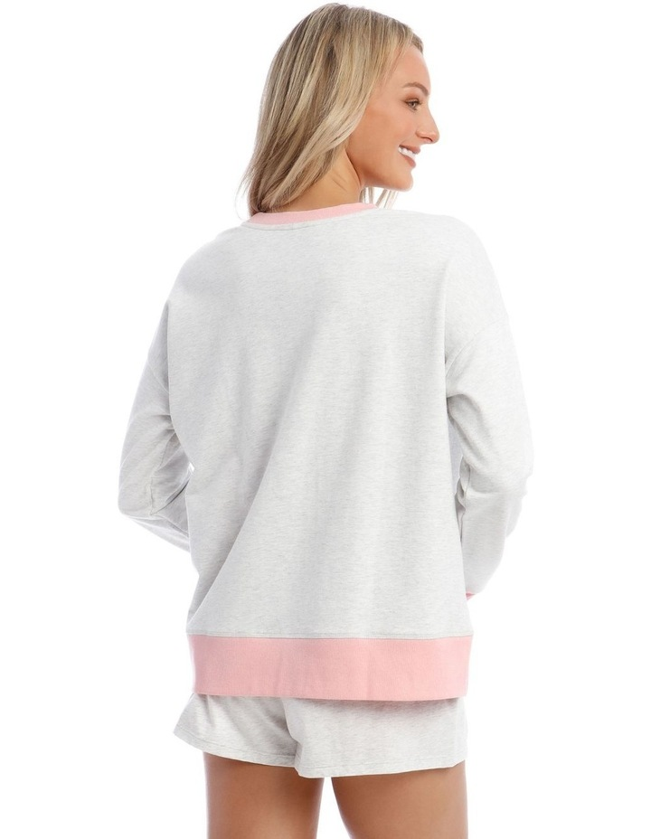 Galentines Cotton Terry Pullover Sweatshirt image 2