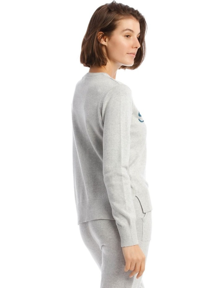 Cosy Comfort Fully-Fashioned Jumper in Grey Marle image 2