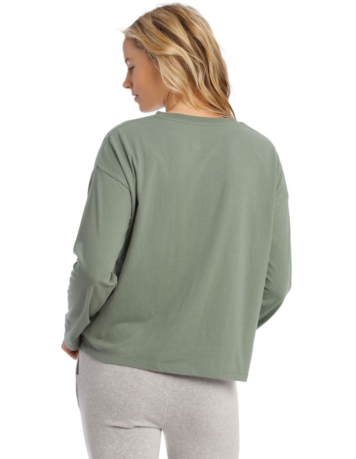 Cotton Rich Long Sleeve Boxy Tee image 2