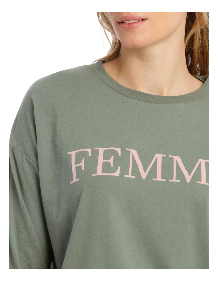 Cotton Rich Long Sleeve Boxy Tee image 3