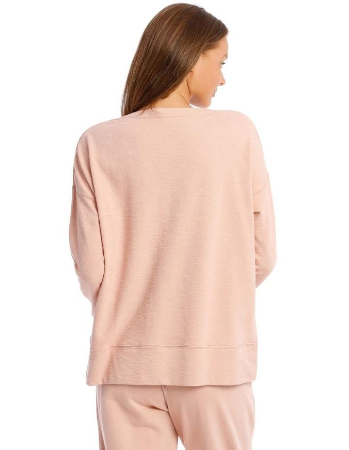 Cotton Rich Terry Pullover Sweatshirt image 2