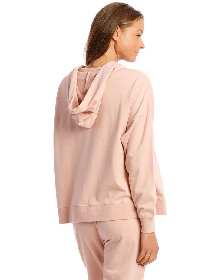 Cotton Rich Fleece 3/4 Zip Sweatshirt image 2